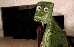 3d dinosaur paper