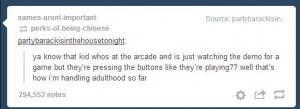 Arcade Adulthood