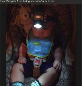 Baby headlamp