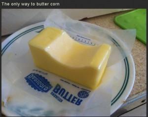 Corn Buttering