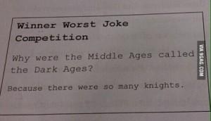 Dark Ages joke