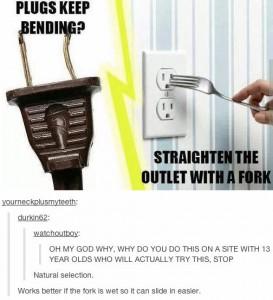 ForkStraightening