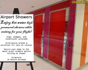 airport showers