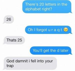 alphabet trap