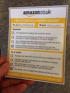 amazon drone notice