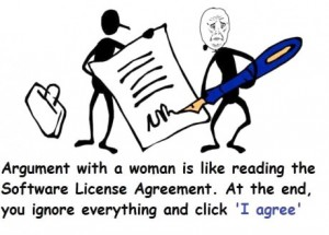 arguing license
