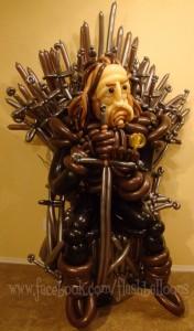 balloon iron throne