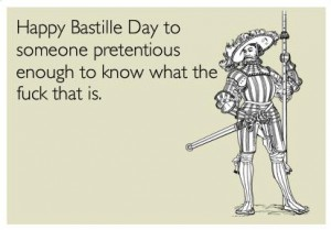 bastille day pretentiousness