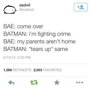 batman parents arent home