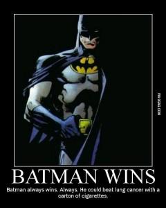 batman wins