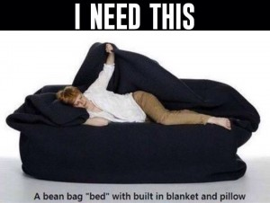 beanbag bed