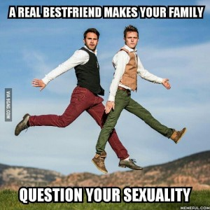 best friend question sexuality