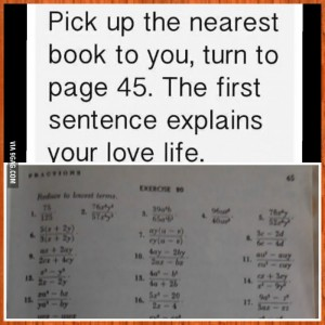 book describes your lovelife