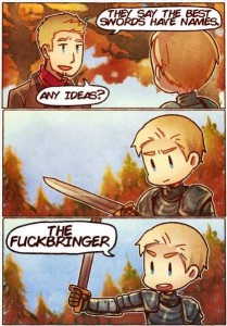 brienne sword name