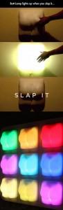 butt lamp