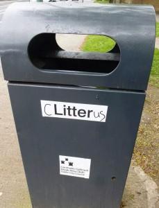 c litter us