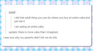 cake lament