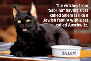 cat named salem