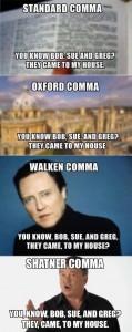 comma types