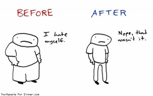 diet before after