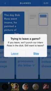 dontleave app