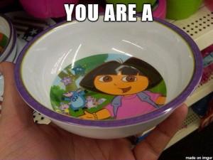 dora bowl