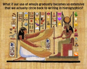 emoji heiroglyphics
