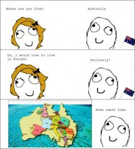 europe v australia
