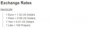 exchange rate likes