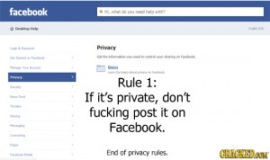 fb privacy rule
