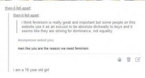 feminism woman