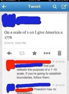 freedom scale