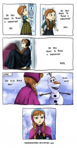 frozen snowman source