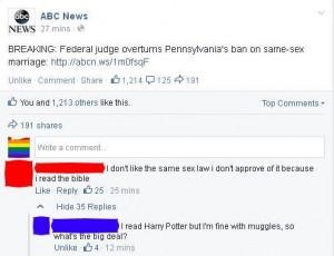 gay v muggle