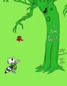 giving groot