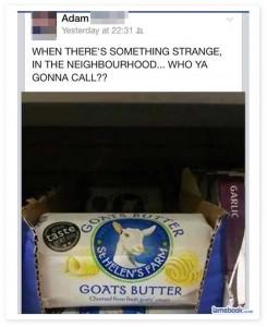 goats butter