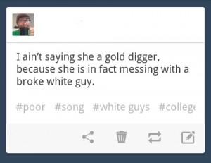 gold digger non