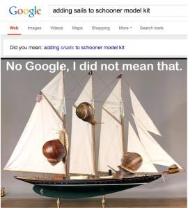 google snails