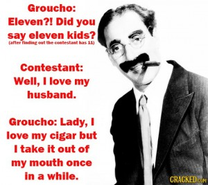 groucho cigar