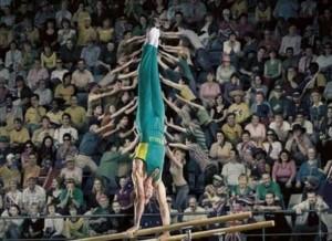 gymnast assistance