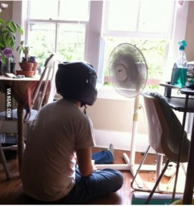helmet fan