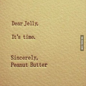 its time peanut butter jelly