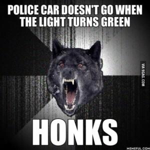 iw cop honk