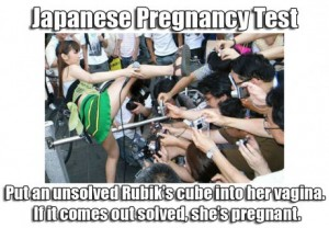 japanese pregnancy test