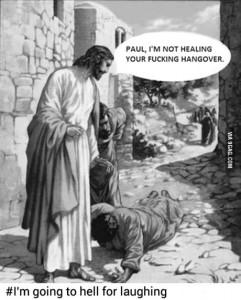 jesus v hangover