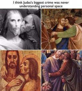 judas personal space