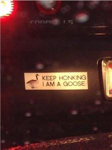 keephonking goose