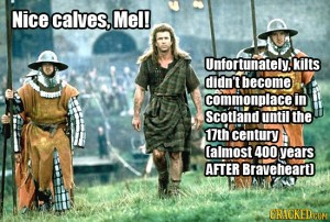 kilt predated