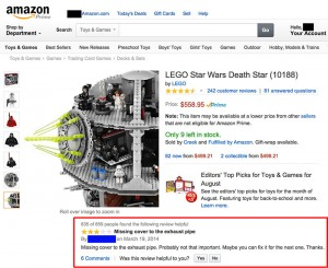 lego death star review