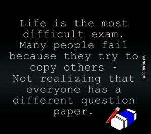 life test copying